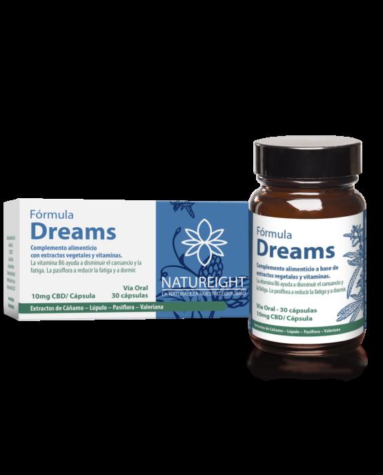 Cápsulas de CBD para mejorar el sueño. Dreams. 30 cápsulas - 300 mg CBD