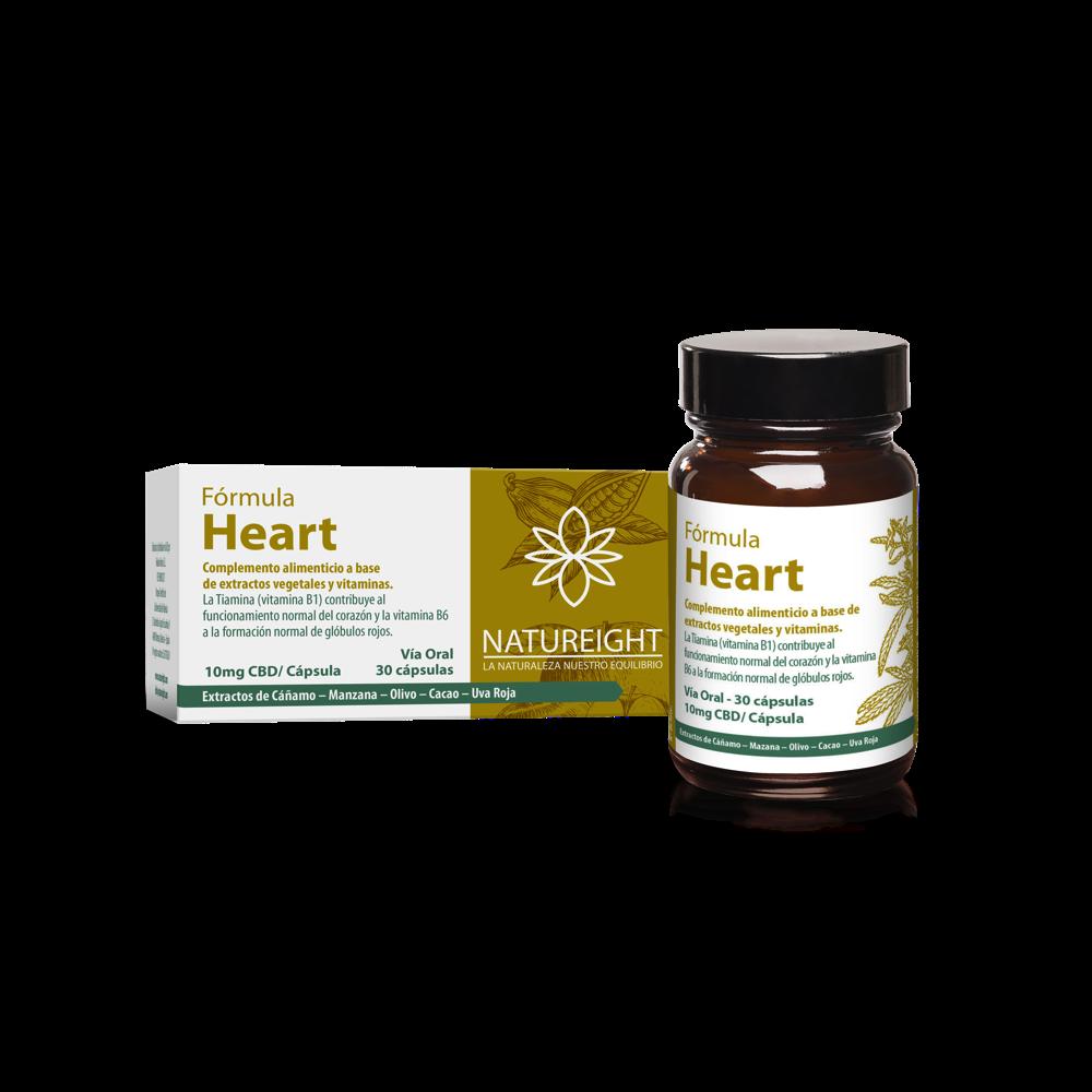 Cápsulas de CBD para el funcionamiento normal del corazón. Heart 30 cápsulas - 300 mg CBD
