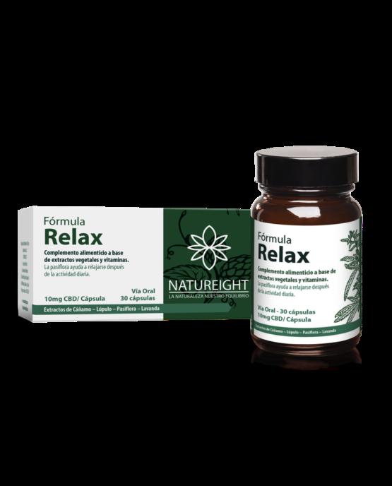 Cápsulas de CBD para relajarse. Relax 30 cápsulas - 300 mg CBD